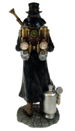 Steampunk Magere Hein Grim Reaper 22 cm hoog