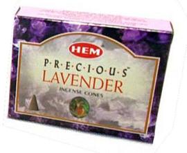 Hem wierookkegels Precious Lavender