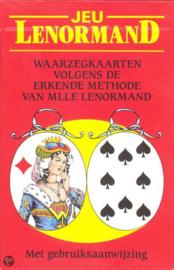 Jeu Lenorman waarzegkaarten 5.5 x 8.5 cm