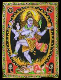 Wall tapestry Shiva - dancing in ring of fire