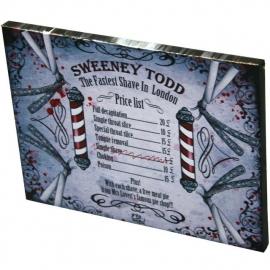 Sweeny Todd - wandbord Dr. Wierd - 19 x 25 cm