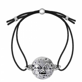 Alchemy Gothic armband - Mera Luna Man In The Moon - 20 x 27 mm