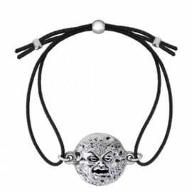 Alchemy Gothic armband - Mera Luna Man In The Moon - 20 x 27 mm