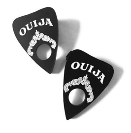 Curiology haarclipjes Ouija Planchette Gothic Occulte - 5 cm lang