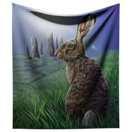 Fluwelen bedsprei woondeken Soltice - van Lisa Parker -140 x 160 cm