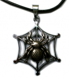 Gothic ketting Spiders Web