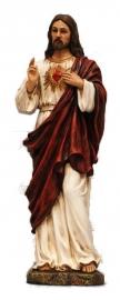 Jezus Christus Heilig hart -  29 cm hoog