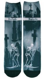 Darkside sokken - Magere Hein Tarot Kerkhof - maat 36 - 46