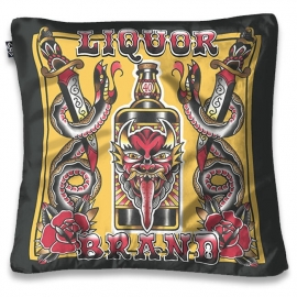 Kussenhoes Liquor Brand - Demon Liquor - 50 x 50 cm