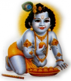 Sticker Krishna 8