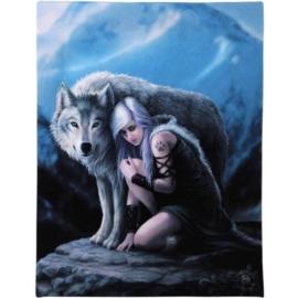 Protector - wandbord van Anne Stokes - 25 x 19 cm