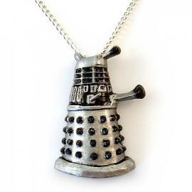 Ketting zilveren Dr Who Dalek