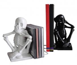 Skelet boekensteunen