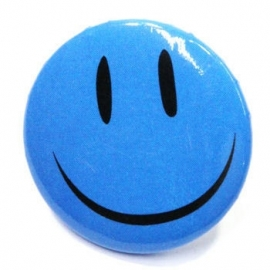 Retro button Smilie 4