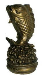 Feng Shuis Vis Goud 11 cm hoog