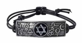 Alchemy Gothic armband - Principia Alchemystica - 6 cm breed