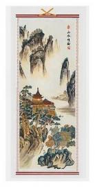 Berg en pagoda