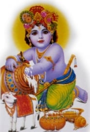 Sticker Krishna 2