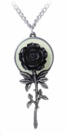 Alchemy Gothic nekketting - Luna Rose - 6.8 cm hoog