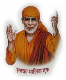 Sticker Sai Baba 4