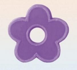 Bloemvormige wassen melt lavendel