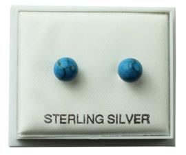 925 zilveren oorbellen stud roos kwarts - steen 6 mm