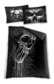 Spiral Direct dekbedovertrek - 1 persoons - Skull Scroll - 200 x 135 cm