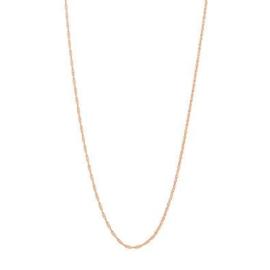 Bronzen ketting 46 cm