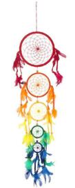 Droomvanger Regenboog Chakra - 85 cm hoog