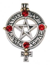 Venusuans Pentagram - Gothic design ketting
