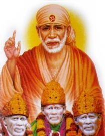 Sticker Sai Baba 2