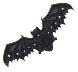 Restyle haarclip Zwarte Vleermuis - 11.5 cm breed