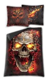 Spiral Direct dekbedovertrek - 1 persoons - Skull Blast - 200 x 135 cm
