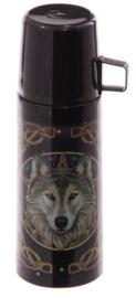 Thermosfles / isoleerkan Lisa Parker Midnight Companion Keltische Wolf - 350 ml