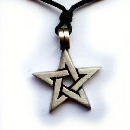 Pentagram in oneindig knoop