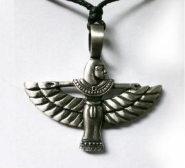 Pewter Egyptische Isis