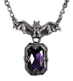 Restyle vleermuis ketting - Night Whisper - Purple Bat