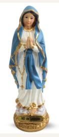 Maria van Lourdes - polystone beeld - 15 cm hoog