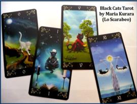 Black Cats Tarot Kaarten - 7 x 12 x 3 cm