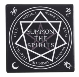 Alchemy of England keramieke onderzetter - Summon the Spirits - 9.3 x 9.3 cm