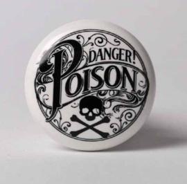 Alchemy England - Flessenstopper - Danger Poison - 4 x 4 x 6 cm