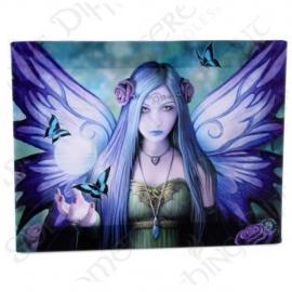 Mystic Aura  - wandbord van Anne Stokes - 25 x 19 cm