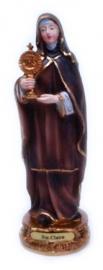 Sint Clara beeld 14 cm hoog