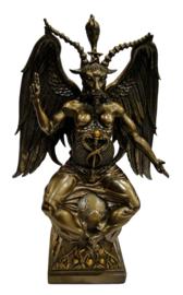 Baphomet brons groot - 41 cm hoog