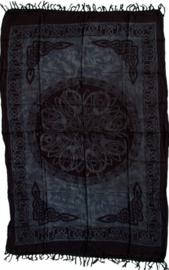 Bali Sarong Pareo Wandkleed Tafelkleed Altaarkleed Keltisch Zwart - 100 x 160 cm