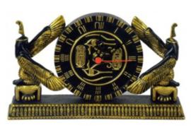 Egyptische klok Isis - 12 x 20 cm