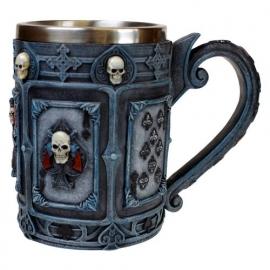 Dead Man's Hand - Gothic bierpul - 14 cm hoog