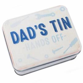 Blik Dad's Tin - 10 x 8 x 3.5 cm