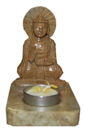 Buddha theelichthouder