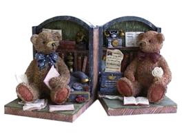 Boekensteunen Beren 12 x 9 cm